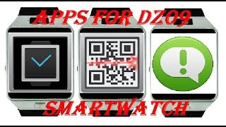 Apps for DZ09 Smartwatch Download!
