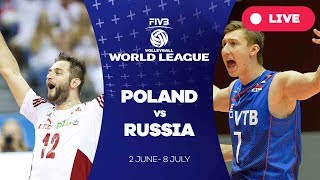 Poland v Russia - Group 1: 2017 FIVB Volleyball World League