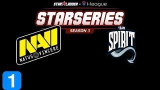 Navi vs Team. Spirit Game 1  Starladder i-League Highlights Dota 2