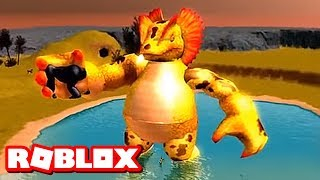 BE HUMANS & SMASH DINOSAURS IN ROBLOX!