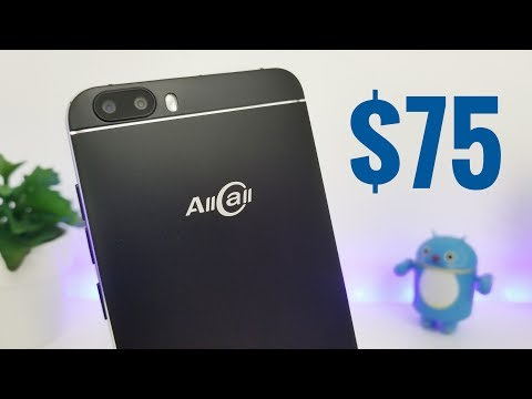 AllCalls Bro Smartphone REVIEW - a $75 Phone!