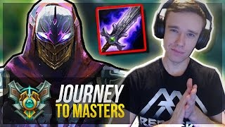 ZED IS BACK!! | FREELO TIME - Journey To Masters #44 - League of Legends