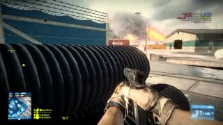 BF3: rivaLxfactor the best closet sniper in the game and playtime with aaron