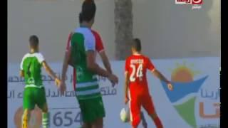 الممتاز ب   الهدف الثالث لـ بلدية المحلة  فى مرمي الأليمبي 3-1