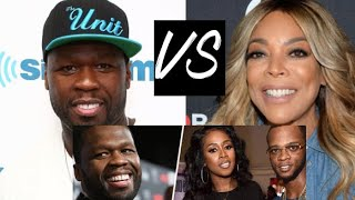 50 Cent GOES OFF on Wendy Williams when she talks his beef with Remy Ma and Papoose #getthestrap