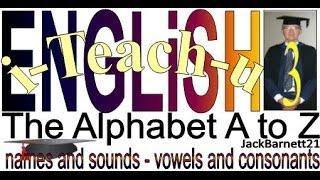 i-Teach-u ENGLiSH 3 Alphabet Sounds A - Z _ _