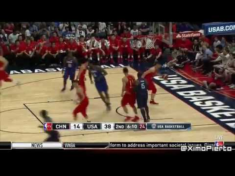 watch USA vs China   FULL GAME Highlights   July 24, 2016   Exhibition   2016 USA Basketball