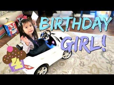 Julianna's 4th Birthday! - October 18, 2016 -  ItsJudysLife Vlogs
