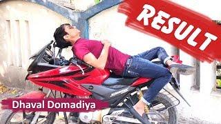 Result - જોજો હો તમે ક્યાંક ........    Dhaval Domadiya.