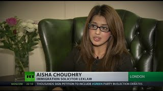LEXLAW UK Immigration & Visa Solicitor interviewed on RT News