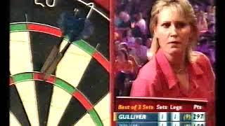 Gulliver vs Pruim Darts Ladies World Championship 2002 Semi Final