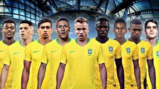 AS MAIORES PROMESSAS DO FUTEBOL BRASILEIRO RUMO A COPA DO MUNDO DE 2022