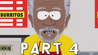 SOUTH PARK THE FRACTURED BUT WHOLE Walkthrough Gameplay Part 4 - Morgan Freeman (PS4 Pro)