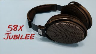Z Review - Sennheiser HD58X Jubilee [WOW-FFFFFF]