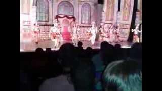 Festival Ballare Stúdio de Dança: A Bela e a Fera, Candelabro