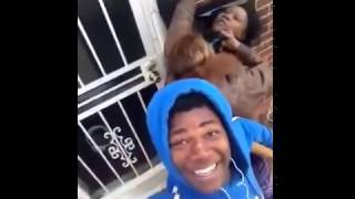 Guy Uses Selfie Stick To Record His Girlfriend Fighting His Mom