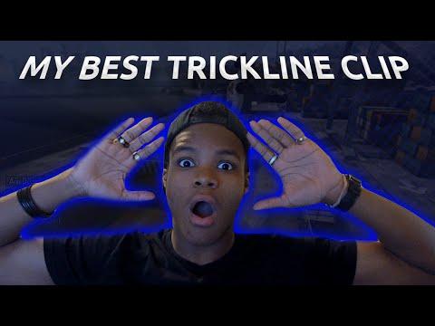 SKATE 3 - MY BEST TRICKLINE CLIP EVER!?