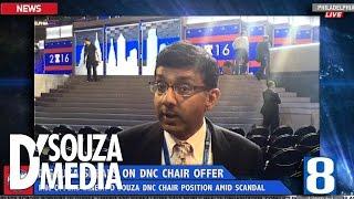 BREAKING NEWS: Dinesh D'Souza Speaks at DNC