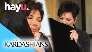 Kris Breaks Down Holding Bruce's Old Clothes   Keeping Up With The Kardashians