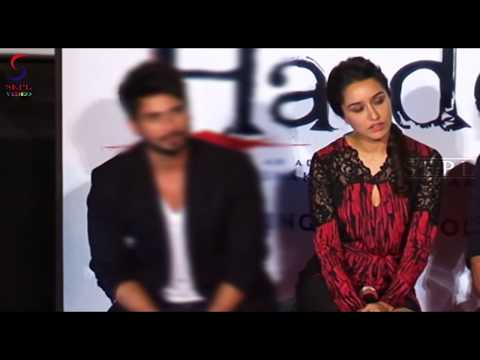 Shraddha Kapoor Looks H0T in Short Dress at the Trailer Launch of her Film Haider