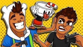 Cuphead and Mugman! CO-OP w/ My Brother!
