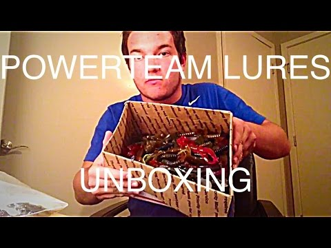 $225 powerteam lures unboxing for only $40