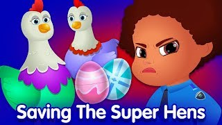 ChuChu TV Police Surprise Eggs – Episode 09 (SINGLE) – The Super Hens