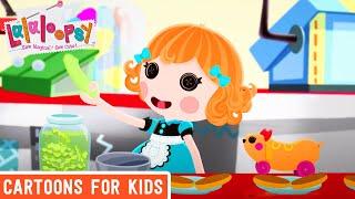 Lalaloopsy - Fine Dining | Lalaloopsy Webisode Compilation | HD Full Episodes | Cartoons for Kids