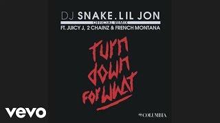 Dj Snake Lil Jon  Turn Down For What Remix Audio Ft Juicy J 2 Chainz French Montana