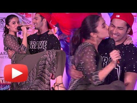 Xxx Mp4 Alia Bhatt KISSES Varun Dhawan In Public Badrinath Ki Dulhania 3gp Sex