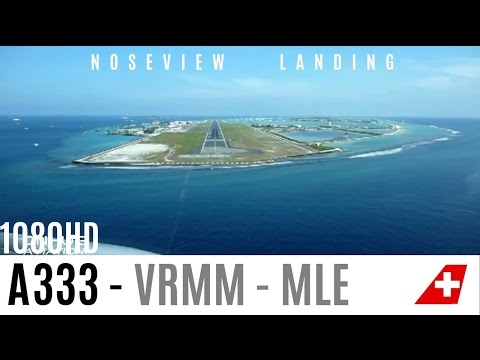 Watch the Fantastic Maldives A330 Cockpit Landing Pilotview HD