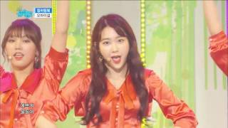 【TVPP】OH MY GIRL – Coloring Book, 오마이걸 – 컬러링 북 @comeback stage,Show Music Core Live
