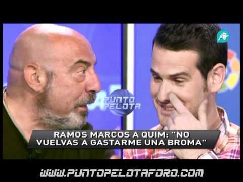 Ramos Marcos a Quim no voy a consentir que te rias de mi