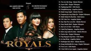 Martin Nievera, Regine Velasquez, Erik Santos, Angeline Quinto OPM Tagalog Love Songs 2018