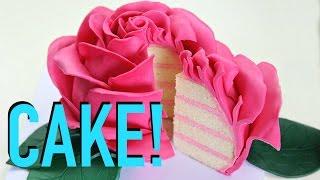 Beautiful Rose Cake - CAKE STYLE