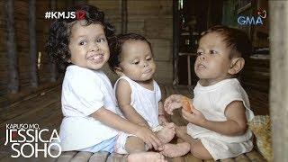 Kapuso Mo, Jessica Soho: Ang tatlong magkakapatid na iisa lang ang laki