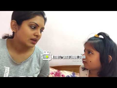 Parasparam Serial Actress Gayathri Arun Quarreling With Her Daughter - Funny Video