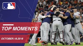Top 10 Moments from October 18, 2018