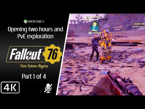 Xxx Mp4 Fallout 76 4K First 2 Hours In PvE XOX Part 1 3gp Sex