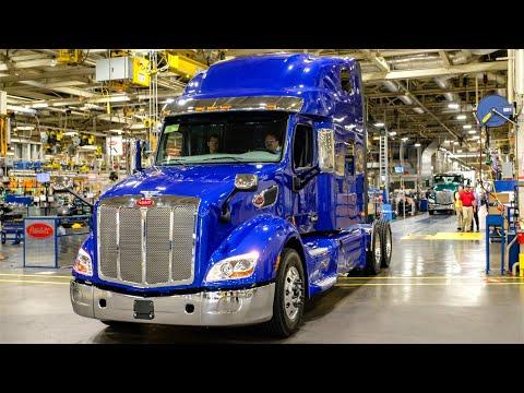 Peterbilt Truck Plant Inside the heavy truck factory