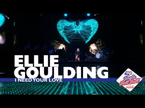 Ellie Gouding I Need Your Love Live At Capital S Jingle Bell Ball 2016