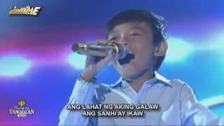 Keifer Sanchez  Ikaw Tawag ng Tanghalan Kids