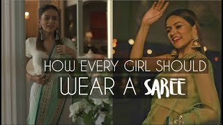 How EVERY Girl Should Wear A SAREE! | Komal Pandey