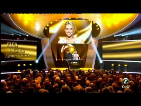 Balon de Oro FIFA 2012 Lionel Messi Mejor jugador del año