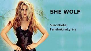 01 Shakira - She Wolf [Lyrics]