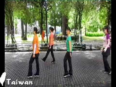 Line dance - Awakening 羅狀元醒世歌 Tina Chen Sue-Huei,Taiwan