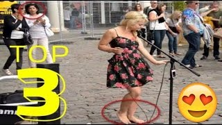 Barefoot Street Performer SHOCKS Audience Amazing Street Performance Sammie Jay Busking