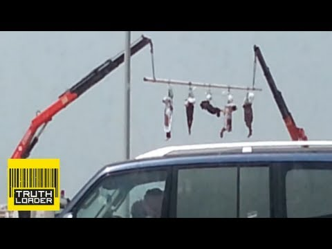 Xxx Mp4 Saudi Arabia Executes Five Men And Hangs Their Bodies From A Crane Truthloader 3gp Sex