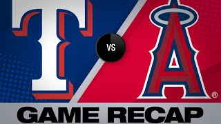 5/24/19: Pence leads Rangers to a 4-3 win over Halos