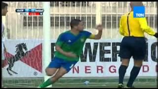 هدف التعادل لمصر المقاصة بقدم عمر النجدي ينتهي بإشتباك بين اللاعبين مصر المقاصة VS الإتحاد 1-1